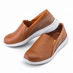 کفش اسپورت دخترانه چرم